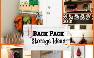 backpack storage ideas, cleaning tips, storage ideas, Create a spot in the hallway or inside a closet or hutch to store away backpacks