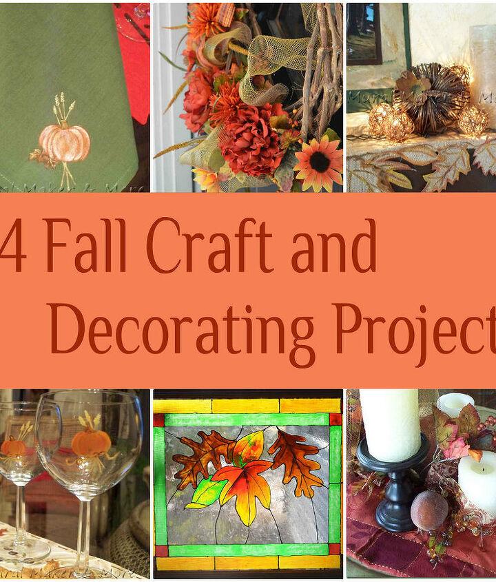 24 fall craft decorating projects, crafts, seasonal holiday decor