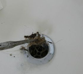 Tutorial On Cleaning Your Bathtub Drain, Bathroom Ideas, Cleaning Tips,  Home Maintenance Repairs