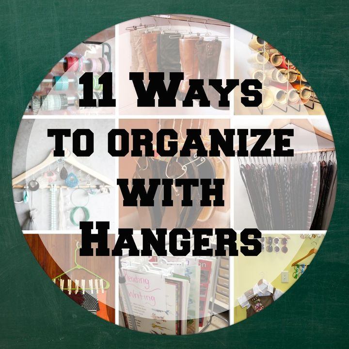 organizing with hangers, organizing, Found out 11 ways to get organized with hangers