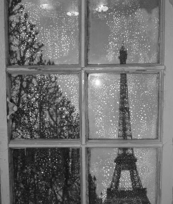 A view of Paris in the rain LOL