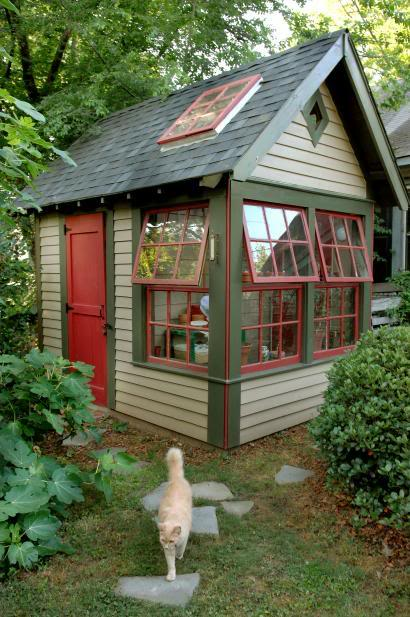 The Empress of Dirt shared this picture from the blog; http://www.empressofdirt.net/garden-shed-mania-gallery-of-ideas/