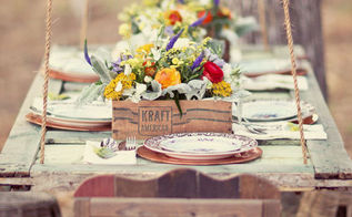 fabulous ways to repourpouse old doors, doors, home decor, repurposing upcycling, Hanging table A fantasy from the blog Green Wedding Shoes