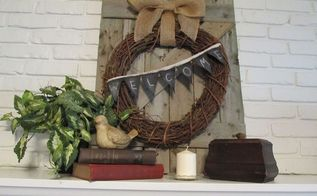 repurposed rustic privacy fence, home decor, repurposing upcycling