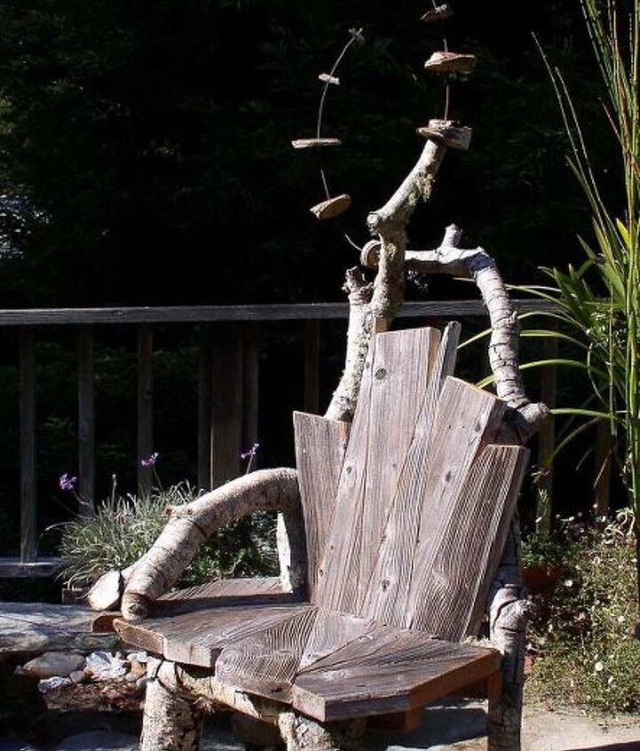 A chair for the garden