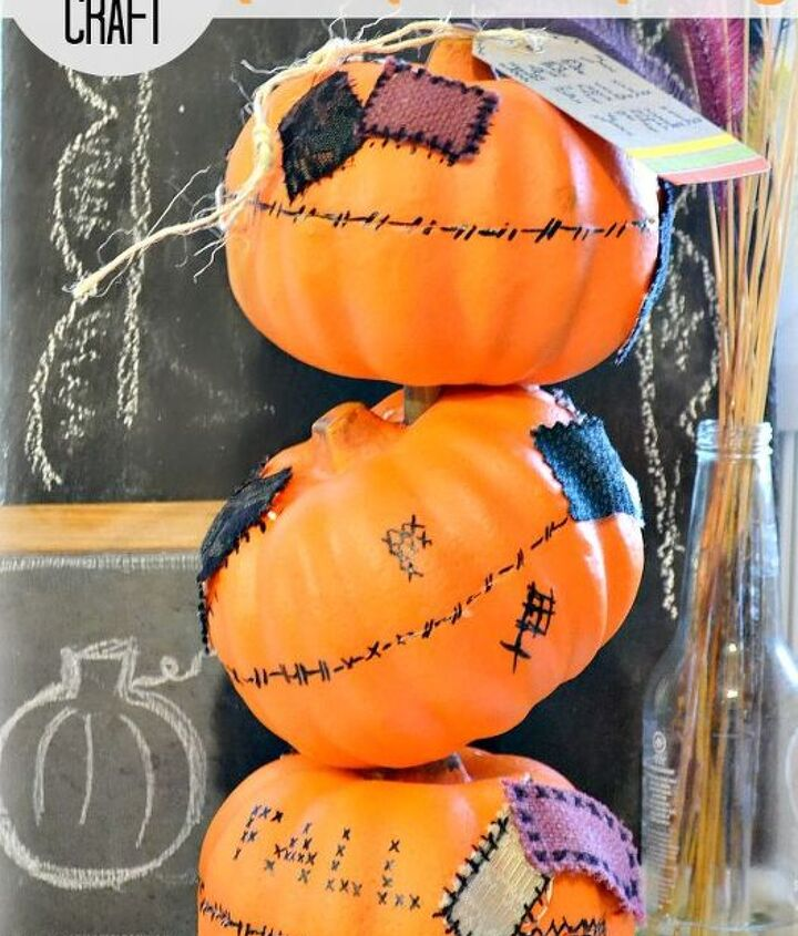 how to make a tipsy pumpkin topiary with dollar tree pumpkins, crafts, seasonal holiday decor
