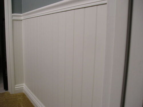 Wainscoting Aka Beadboard In Bathroom Installation