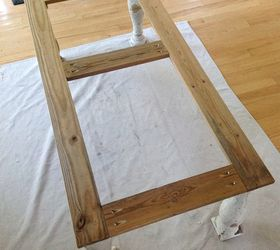Restoration Hardware Knock Off Salvaged Wood Balustrade Coffee Table, Diy,  How To, Painted