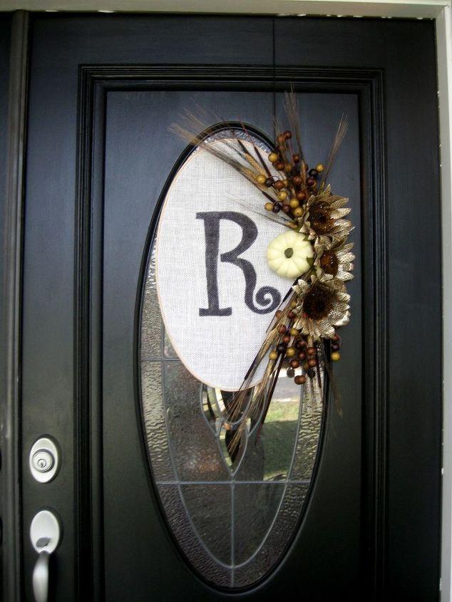 fall door wreaths, crafts, seasonal holiday decor