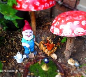 Charmed Gardens A Collection Of Fairy Miniature Garden Making Tips,  Container Gardening, Crafts,