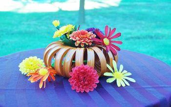 Quick Halloween Decoration From Mason Jar Lids