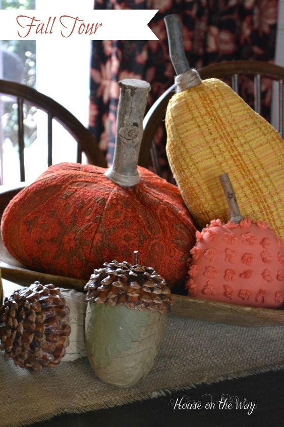 home fall tour, crafts, repurposing upcycling, seasonal holiday decor, The All Things Home Fall Tour 2013
