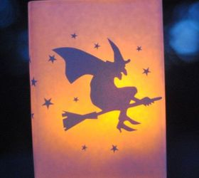 diy halloween decor glowing luminaries crafts halloween decorations seasonal holiday decor the