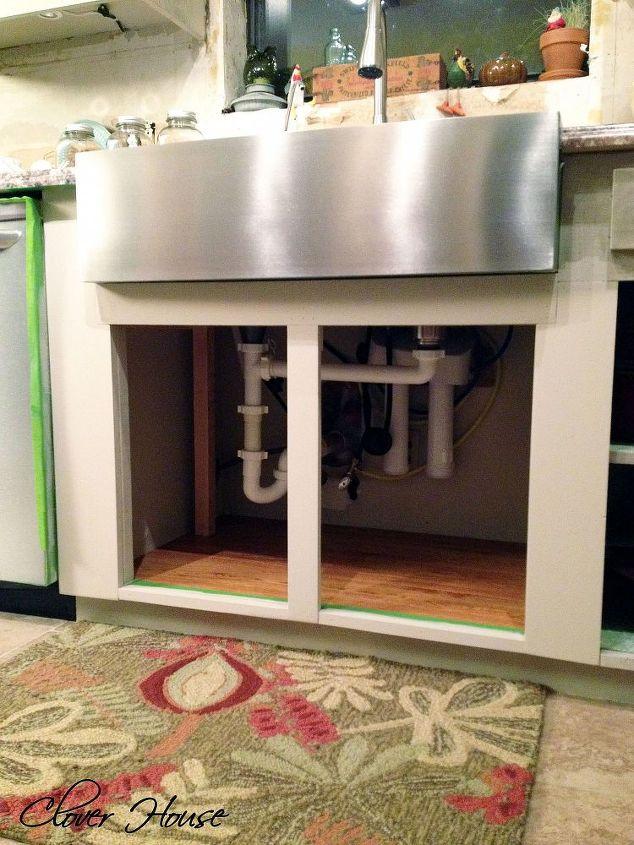 Installing A Farmhouse Sink Hometalk