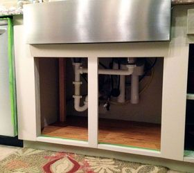 Installing A Farmhouse Sink, Diy, How To, Kitchen Design, Plumbing, The