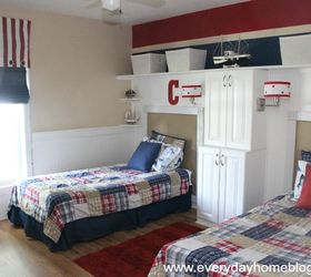 Pottery Barn Isnpired Boys Bedroom Reveal, Bedroom Ideas, Home Decor, Stock  Kitchen Cabinetry