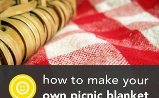 how to make a waterproof picnic blanket, crafts