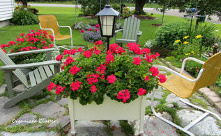 who wants to come to a virtual garden party part 1, flowers, gardening, It starts with a flower ful seating area