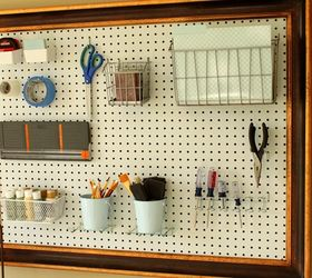 Framed Pegboard For Your Craft Room, Craft Rooms