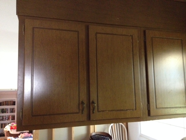 Old 70s Wood Cabinets Need Makeover Hometalk