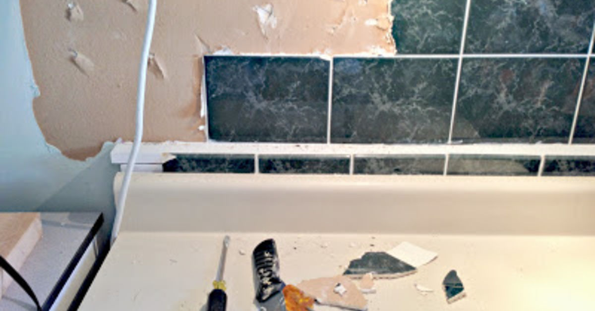 Faux Tin Ceiling Tiles To The Rescue Hometalk