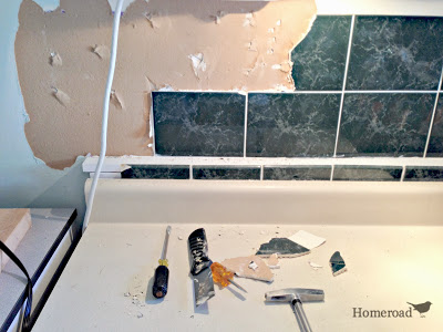 Faux Tin Ceiling Tiles To The Rescue Kitchen Backsplash Design Tiling