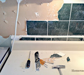 Faux Tin Ceiling Tiles To The Rescue, Kitchen Backsplash, Kitchen Design,  Tiling,