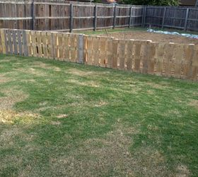 Pallet Fence Hometalk