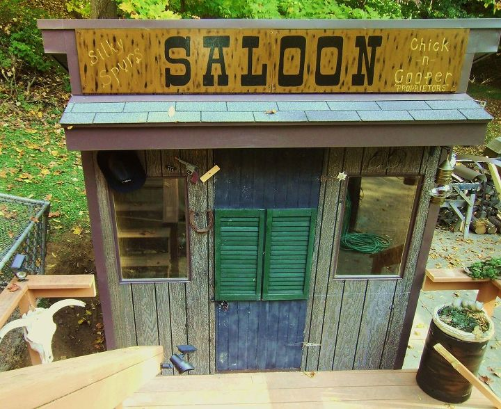We think the Silky Chickens will love their new home : )