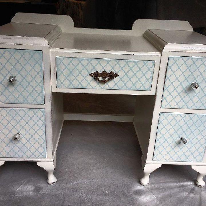 vanity love, painted furniture