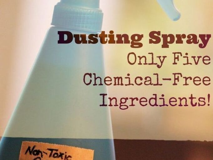 non toxic citrus dusting spray, cleaning tips, go green