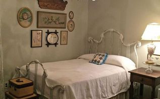my new favorite paint color, bedroom ideas, home decor, painted furniture, Benjamin Moore Revere Pewter love it