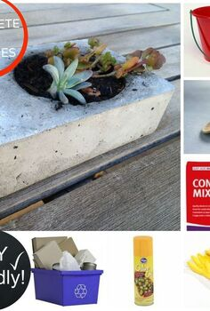 diy concrete planters, concrete masonry, container gardening, diy, flowers, gardening, how to, succulents, DIY concrete planter supplies