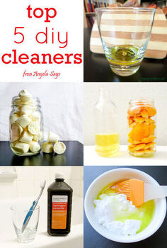 top 5 diy cleaners, cleaning tips