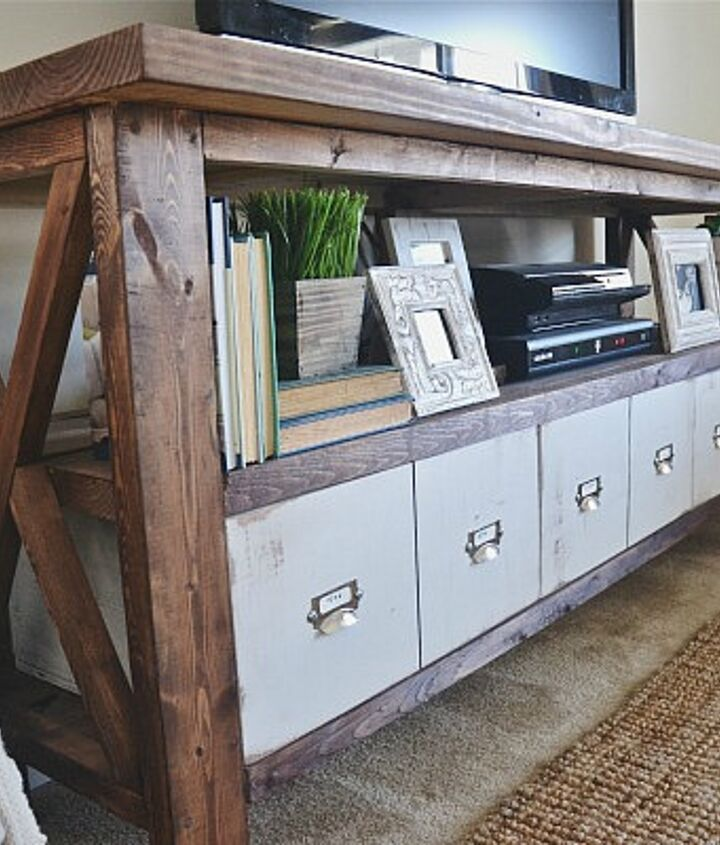 These DIY drawers are faux catalog drawers.