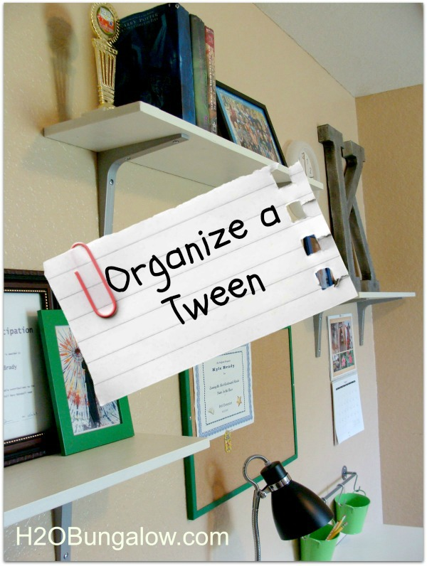 Organize a Tween painlessly