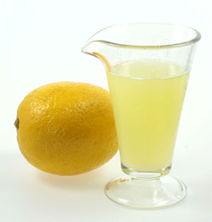 Lemon Juice comes from the fruit of the lemon tree, which is commonly grown in the citrus states of California and Florida.  Lemon juice is a natural disinfectant with antibacterial properties.