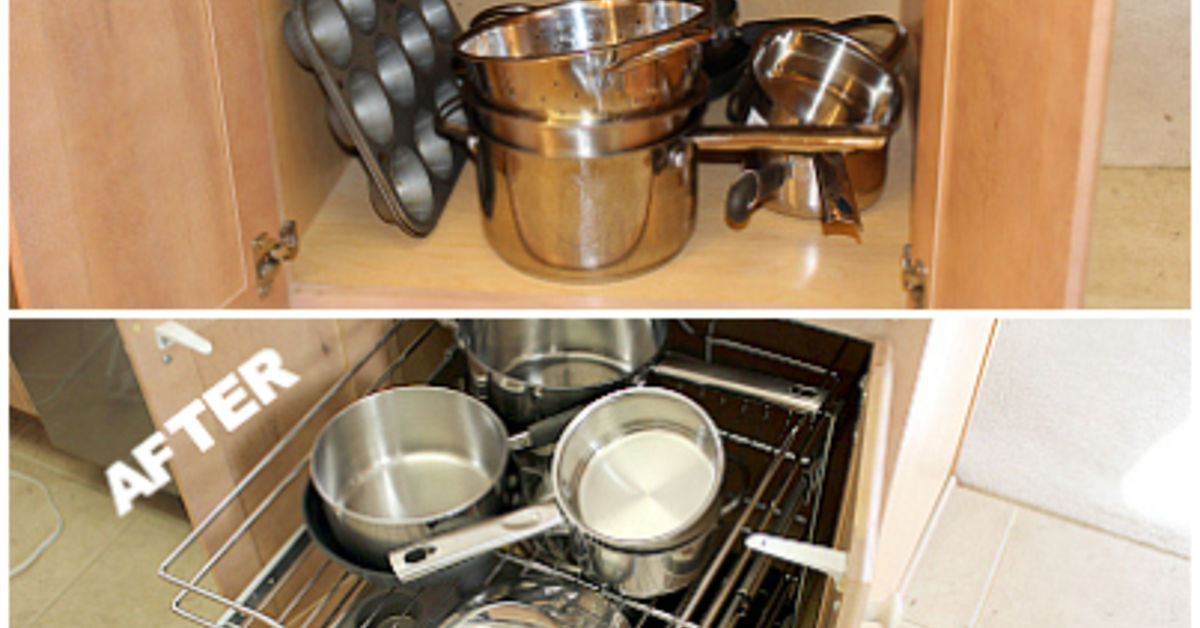 A Proven System For Kitchen Cabinet Organization