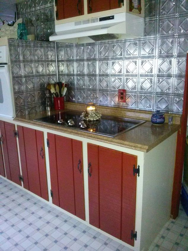 q love my new punched tin look please let me now your thoughts about, kitchen design