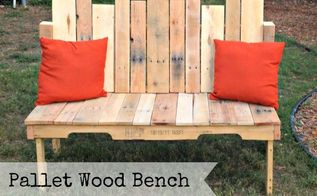 upcycled pallet wood bench, diy, painted furniture, pallet, repurposing upcycling, woodworking projects, Pallet Wood Bench