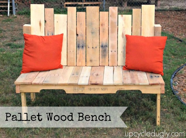 Pallet Wood Bench