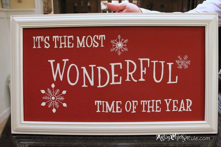 Diy Holiday Sign Pottery Barn Inspired Easy Inexpensive Chalk Paint Crafts Painting
