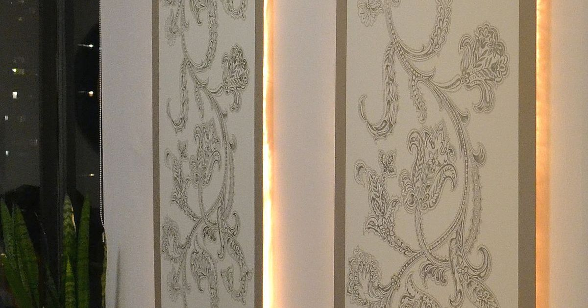 Diy Lighted Wall Panel Hometalk