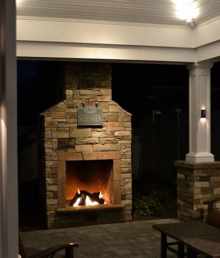 Pre-Manufactured Fireplaces and Pergolas: Budget pergola and fireplace kits can be half the price of custom ones and you can get a clear picture of what they will look like before hand. www.longislandhottub.com