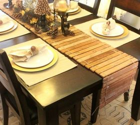 Diy Table Runner From Scrap Wood Video Tutorial, Diy, Home Decor, ...