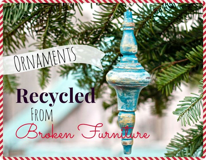 diy christmas ornaments from broken furniture and salvaged wood, christmas decorations, repurposing upcycling, seasonal holiday decor