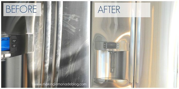 how to clean stainless steel, cleaning tips, There is a cleaning product that does THIS and the effect lasts about a week