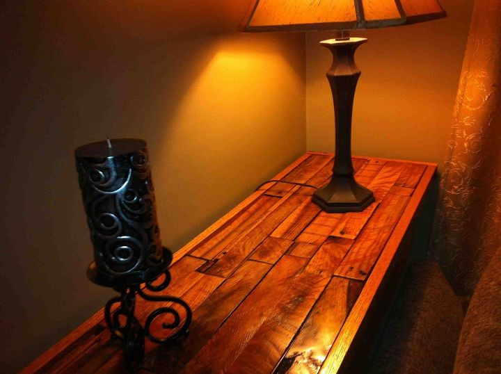 from pallet to table, diy, painted furniture, pallet, repurposing upcycling, Here is one of them and the other is the same