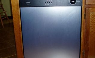 updating a 15 year old dishwasher w stainless steel look, appliances, home maintenance repairs, kitchen design, After New stainless steel dishwasher