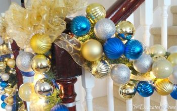 A Step by Step of How to Create Glitzy Garlands - The Dedicated House